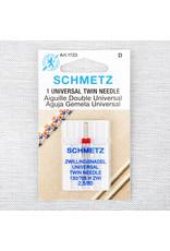 Schmetz Aiguilles Schmetz Double Universelle 80/12, 2.5 mm
