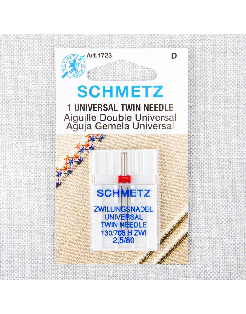 Schmetz Schmetz universal twin needle - 80/12, 2.5 mm
