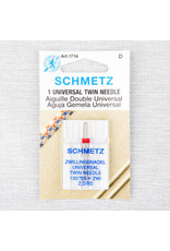 Schmetz Aiguille universelle double Schmetz - 80/12, 2 mm
