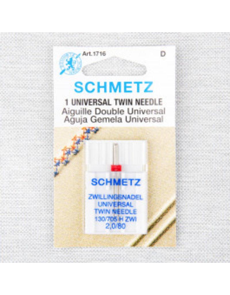 Schmetz Aiguilles Schmetz Double Universelle 80/12, 2 mm