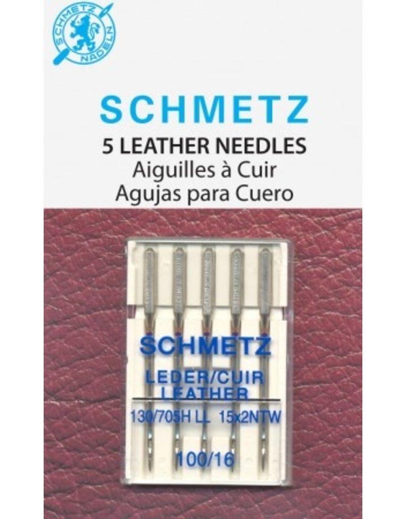 Schmetz Aiguilles pour le cuir Schmetz - 100/16
