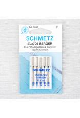 Schmetz Aiguilles Schmetz à Surjeter ELx705 Assorties 80/12 à 90/14