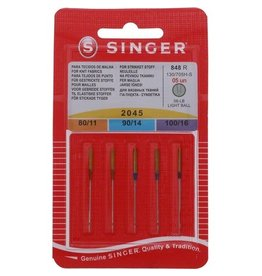 Singer ball point needles - Assorted sizes