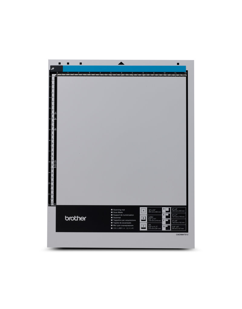 """Brother Brother 12"""" x 12"""" scanning mat for ScanNCut DX"""