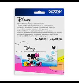 Brother Collection 1 de créations en papier appliqué Mickey et ses amis
