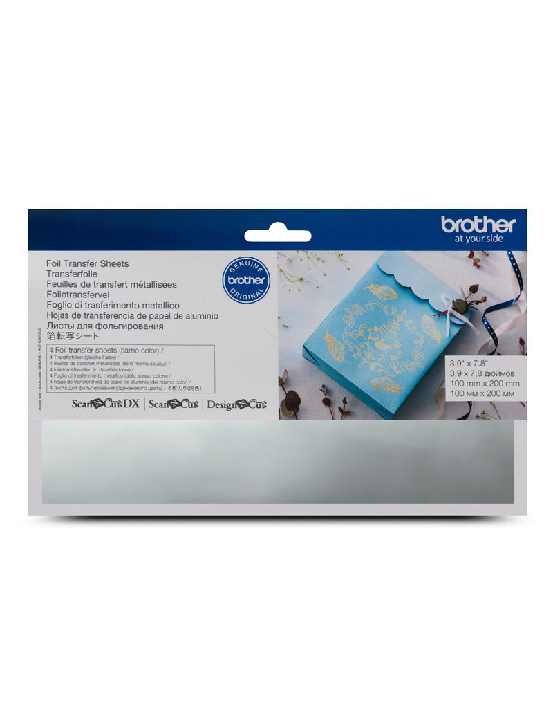 Brother Brother silver foil transfer sheets
