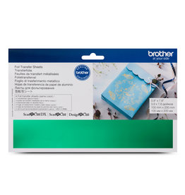 Brother Brother green foil transfer sheets
