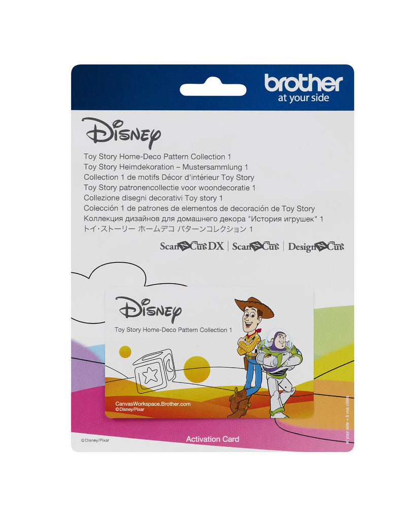 Brother Toy Story home deco pattern collection #1