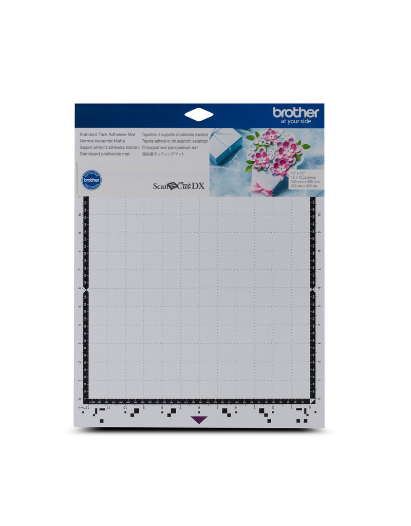 """Brother Brother standard tack adhesive mat ScanNCut DX, 12"""" x 12"""""""