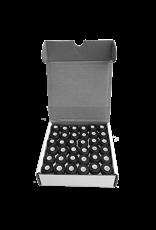 HFK cardboard side black bobbins 124 vgr