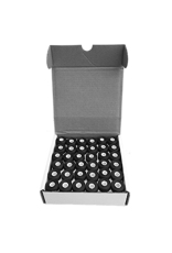 Isabob Cardboard side black bobbins 124 vgr