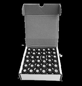 Isabob Canettes de fils noir 125vg boite de 144 unités