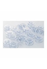 Brother Brother clear plastic standard bobbins – 10-pack, 11.5 Size