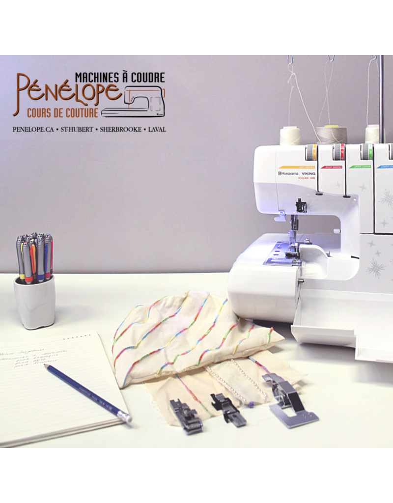 Serger workshop (Baby 97/Hus 200/Bernette/White 2000)