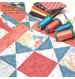 Pénélope Basic quilt making