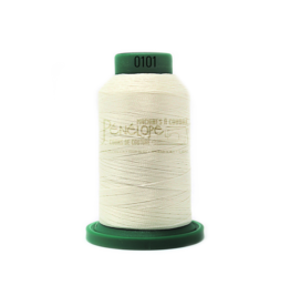 Isacord Fil Isacord 0101 pour couture et broderie