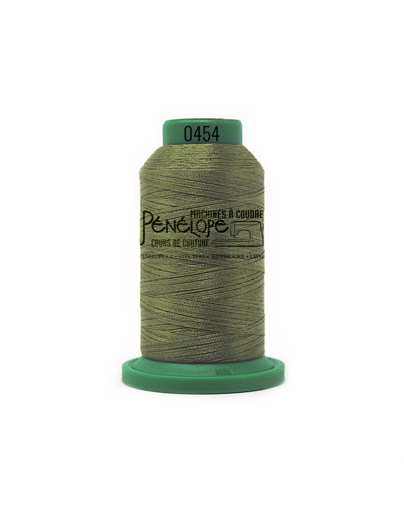 Isacord Fils Isacord couture et broderie couleur 0454