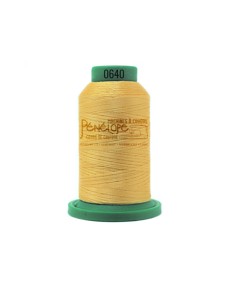 Isacord Isacord thread 0640 for embroidery and sewing