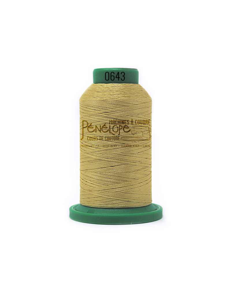Isacord Isacord thread 0643 for embroidery and sewing