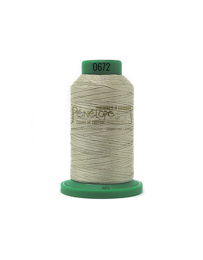 Isacord Isacord thread 0672 for embroidery and sewing