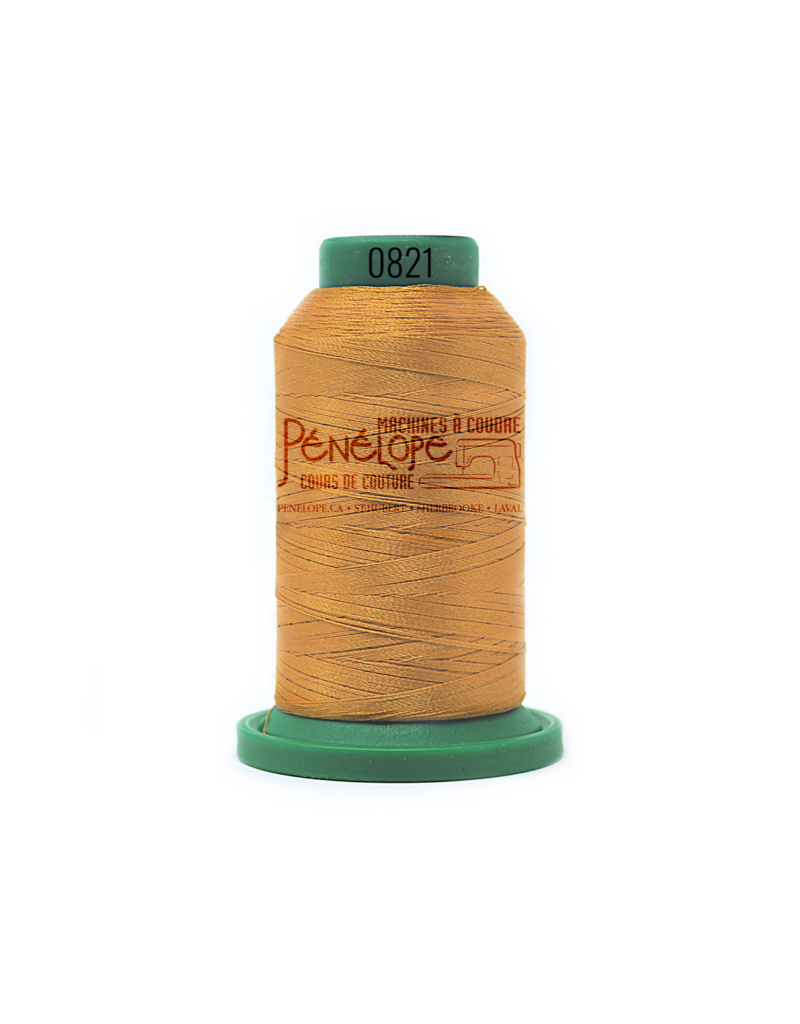 Isacord Isacord thread 0821 for embroidery and sewing