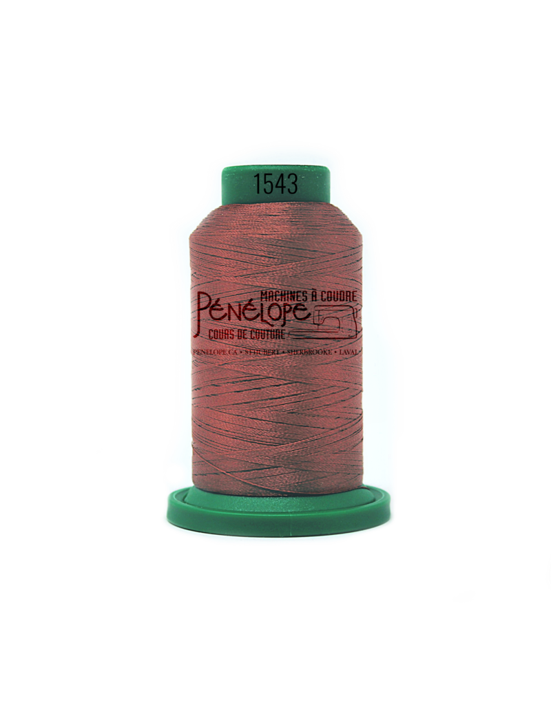 Isacord Fils Isacord couture et broderie couleur 1543