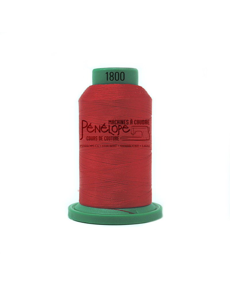 Isacord Isacord thread 1800 for embroidery and sewing