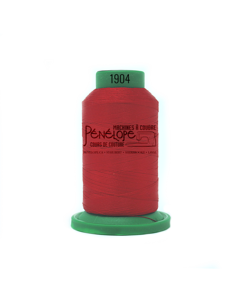 Isacord Fils Isacord couture et broderie couleur 1904