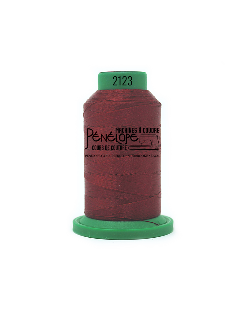Isacord Isacord thread 2123 for embroidery and sewing