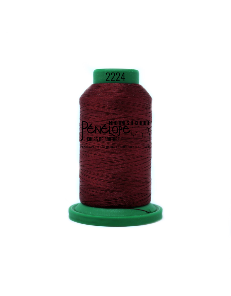 Isacord Fils Isacord couture et broderie couleur 2224