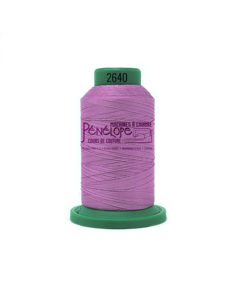 Isacord Fils Isacord couture et broderie couleur 2640