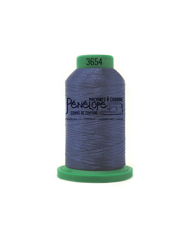 Isacord Fils Isacord couture et broderie couleur 3654
