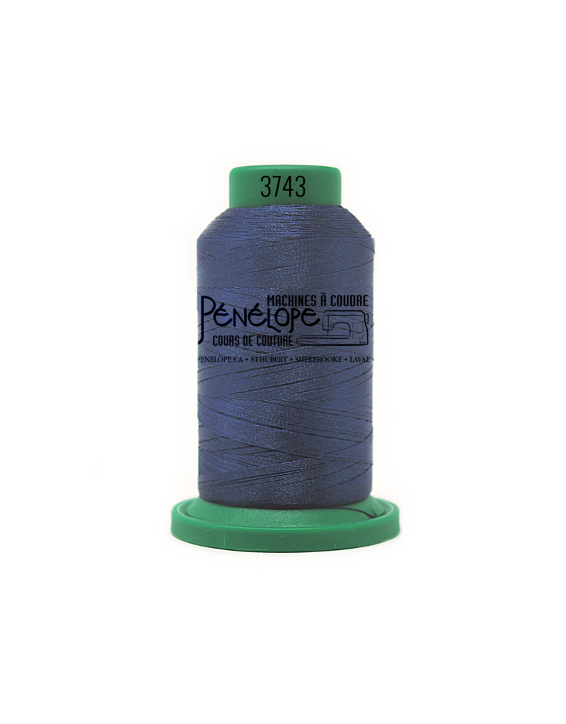 Isacord Fils Isacord couture et broderie couleur 3743