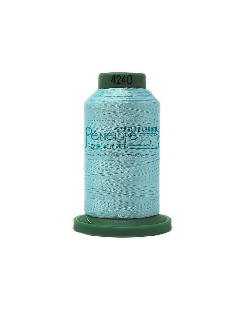 Isacord Isacord thread 4240 for embroidery and sewing