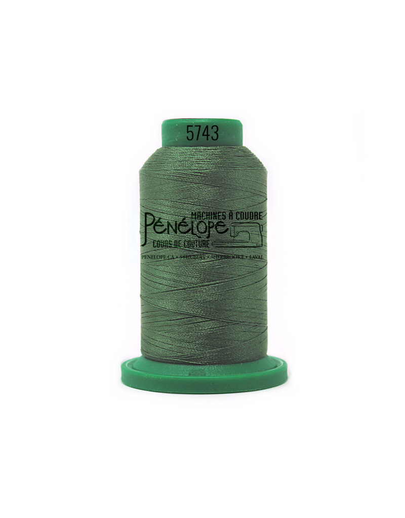 Isacord Isacord thread 5743 for embroidery and sewing