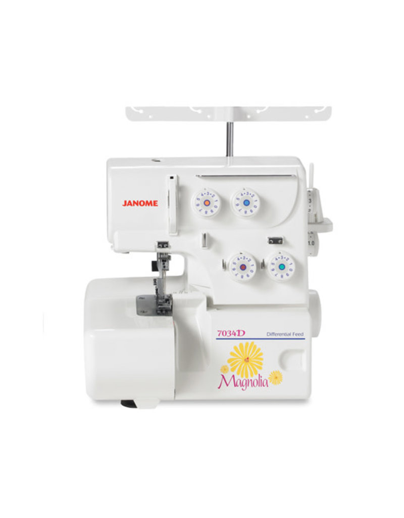 Janome Janome 4 threads serger Magnola 7034D
