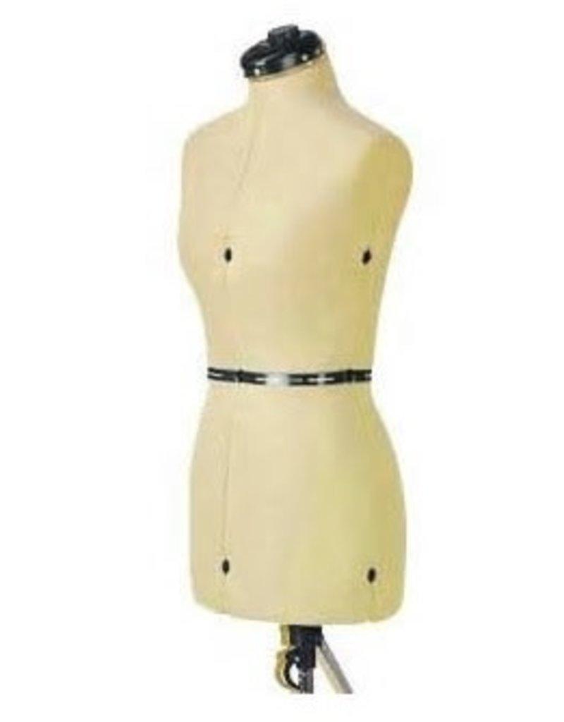 Adjustable dress form