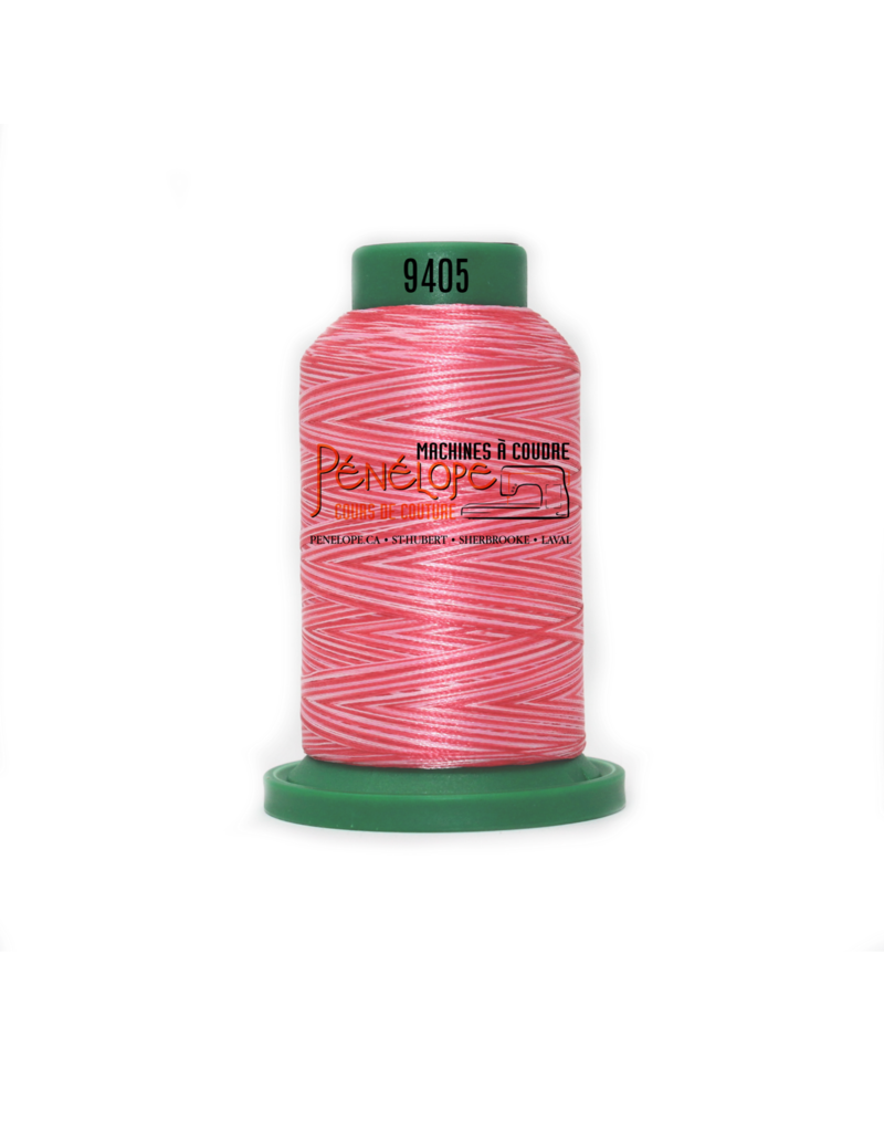 Isacord Isacord sewing and embroidery thread 9405 1000 m