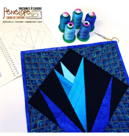 Pénélope Paper piecing quilt class