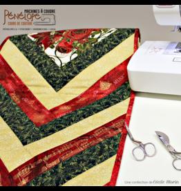 French braid quilt design class