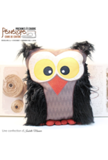 Pénélope Owl throw pillow sewing class