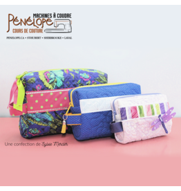 Pénélope The 3 Musketeers sewing class (3 little bags)