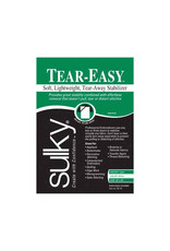 Sulky Stabilizer Tear Easy 20Pcx1Yd white