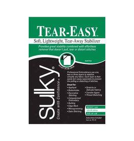 Sulky Stabilizer Tear Easy 20Pcx1Yd white