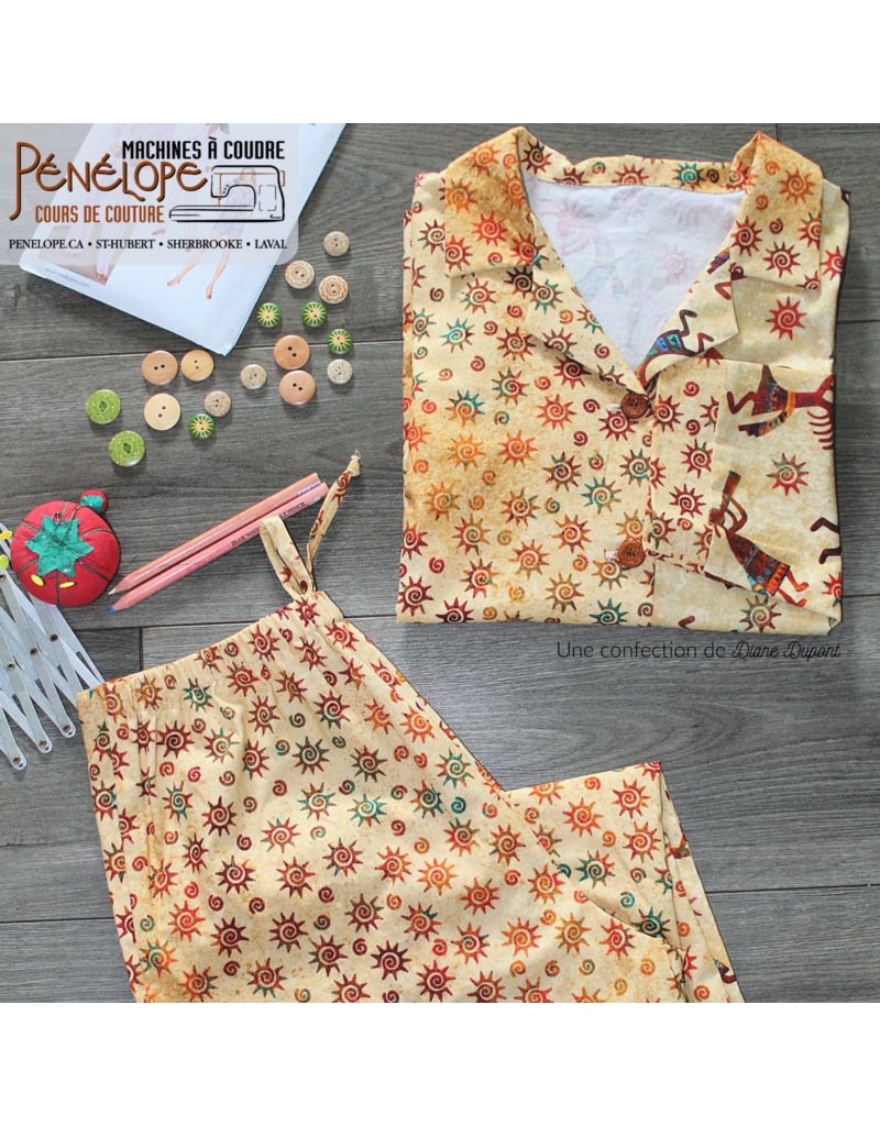 Pénélope Sewing classes for beginners plus sizes