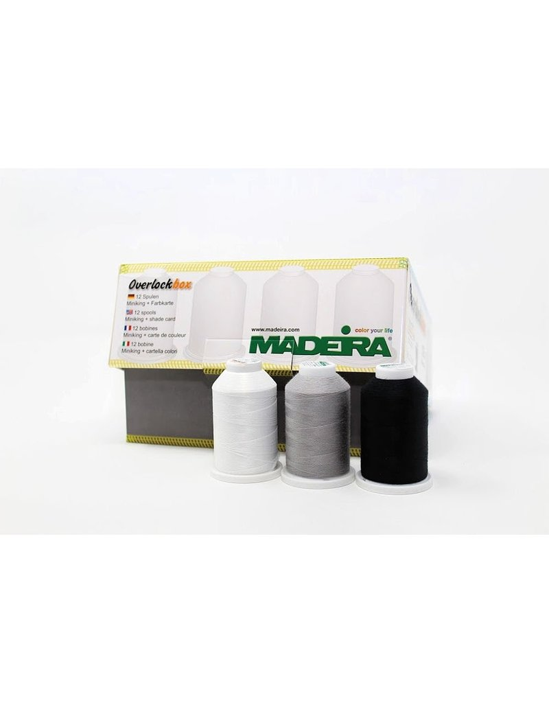 Madeira Fils ensemble miniking de 12 bobines Aérolock et Aéroflock