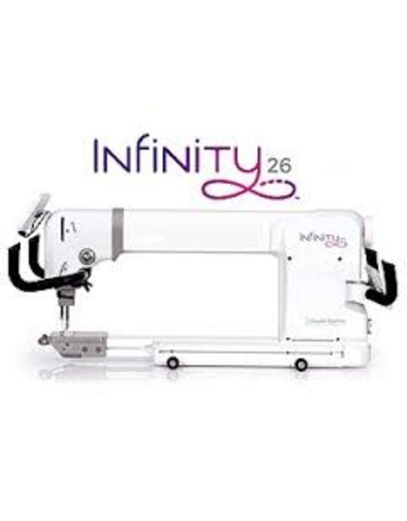 Handi Quilter Handi Quilter Infinity 26 pouces avec métier Gallery2 10 pieds