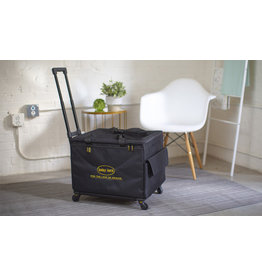 Babylock Victory  medium transport case on wheel