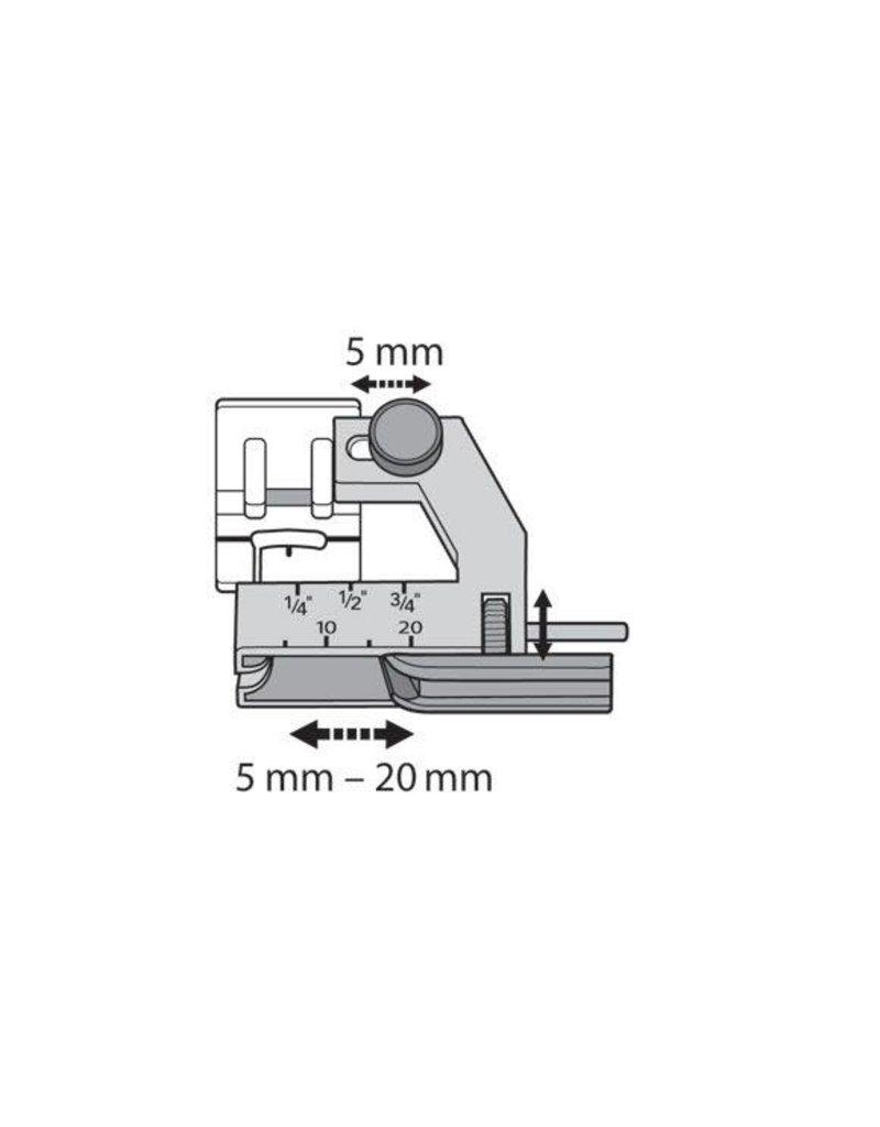 Husqvarna 307-7B Husqvarna Pied biais ajustable