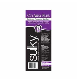 "Sulky Sulky Cut Away Plus - 8"" x 8 yd Roll"